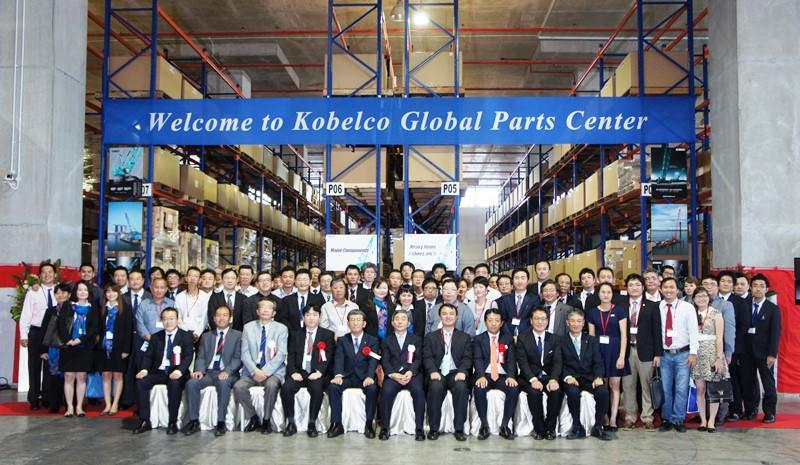 Global Parts Centre for Kobelco | Vertikal net