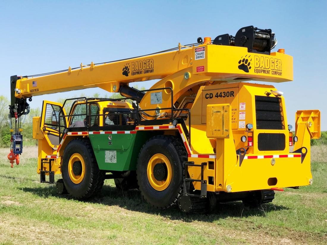Updated Manitex Rail Crane