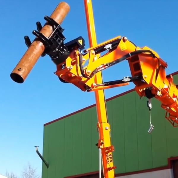 Jekko pipe manipulator | Vertikal net