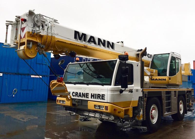 New Tadano for Mann | Vertikal net