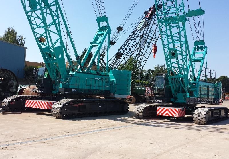 Two more Kobelco Cranes for Murphy | Vertikal net