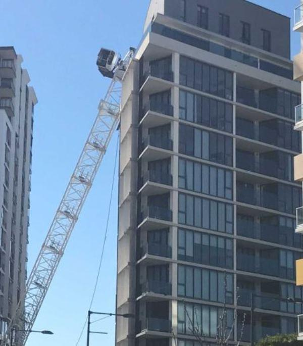 Sydney tower crane collapse | Vertikal net