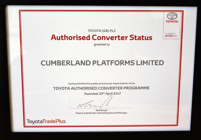 CPL first Toyota Converter partner   Vertikal net