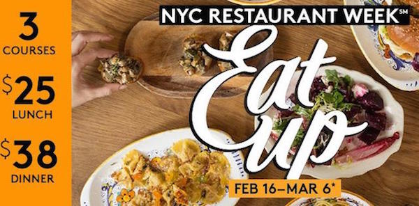 Restaurant Week: winter edition 2015