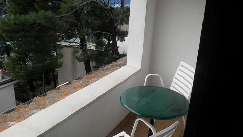 Apartmány Brela 13817, Brela - Balkon