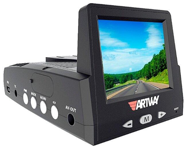 Видеорегистратор с радар-детектором Artway MD-102 Combo 3 в 1
