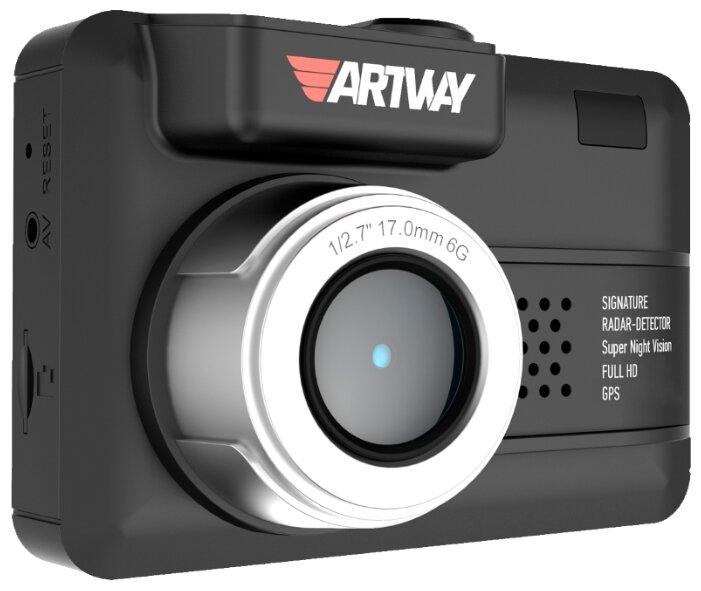 Видеорегистратор с радар-детектором Artway MD-107 Signature 3 в 1 Compact