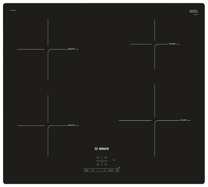 Индукционная варочная панель Bosch PIE611BB1E