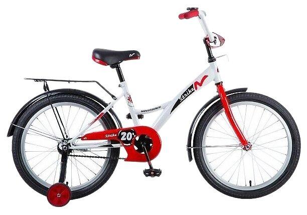 Детский велосипед Novatrack Strike 20 (2018)