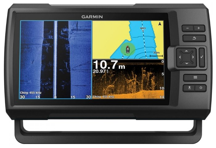 Эхолот Garmin STRIKER PLUS 9SV без датчика (010-01875-02)