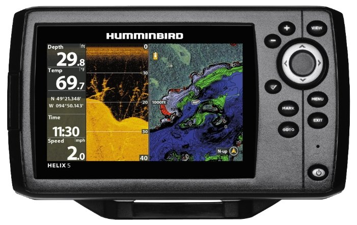 Эхолот Humminbird HELIX 5 CHIRP DI GPS G2