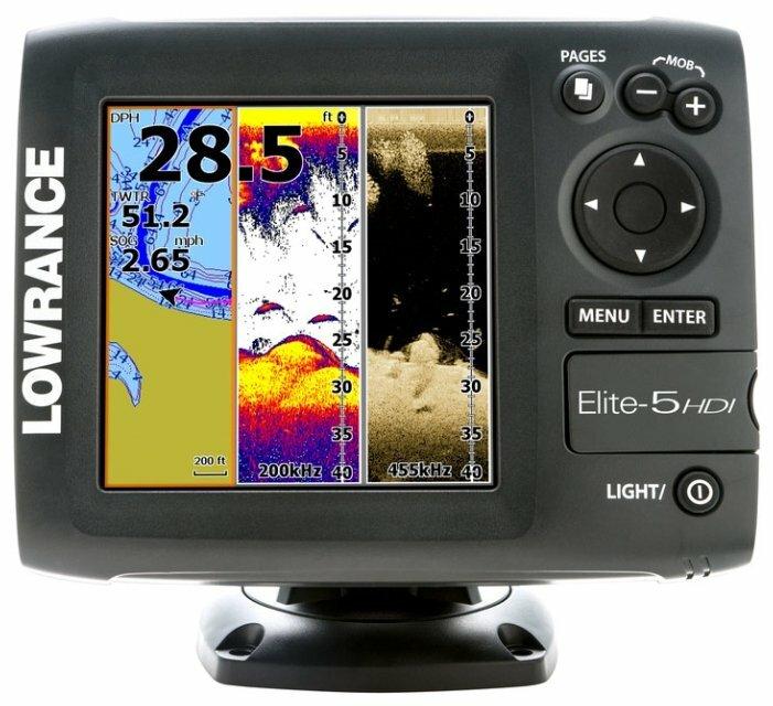 Эхолот Lowrance Elite-5 HDI 83/200
