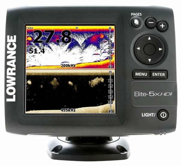 Эхолот Lowrance Elite-5x HDI 83/200