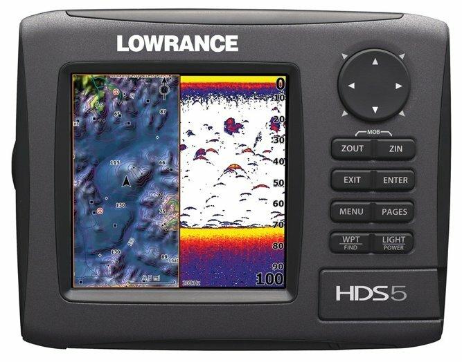 Эхолот Lowrance HDS-5 Gen2 83/200