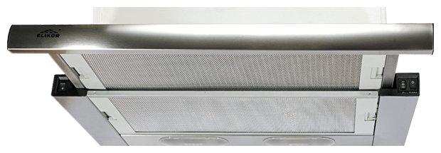 Встраиваемая вытяжка ELIKOR Выдвижной блок 2М 60 нержавейка (550)