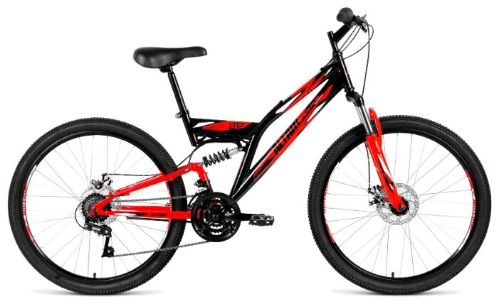 Горный (MTB) велосипед ALTAIR MTB FS 26 2.0 Disc (2019)