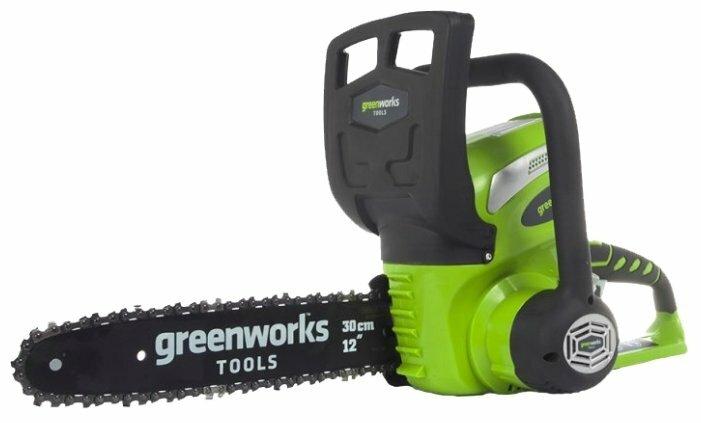 Цепная электрическая пила greenworks G40CS30 2.0Ah x1
