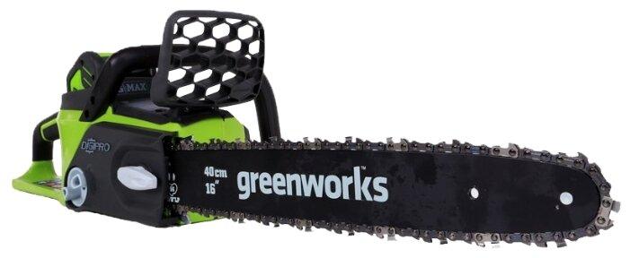 Цепная электрическая пила greenworks GD40CS40 4.0Ah x1