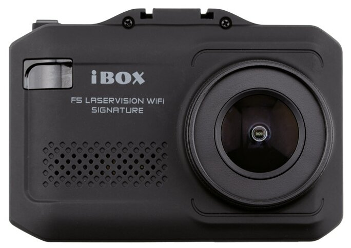 Видеорегистратор с радар-детектором iBOX F5 Laservision WiFi Signature