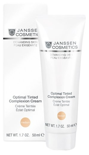 Janssen Demanding Skin Optimal Tinted Complexion Cream Medium Дневной крем для лица SPF 10