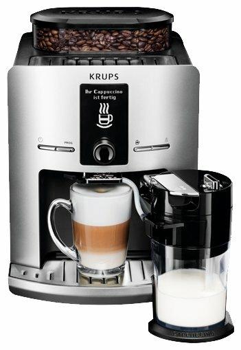 Кофемашина Krups EA829E Latt' Express