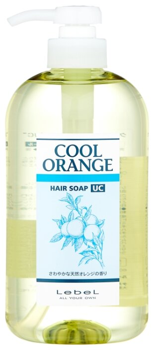 Lebel Cosmetics шампунь Cool Orange Hair Soap Ultra Cool