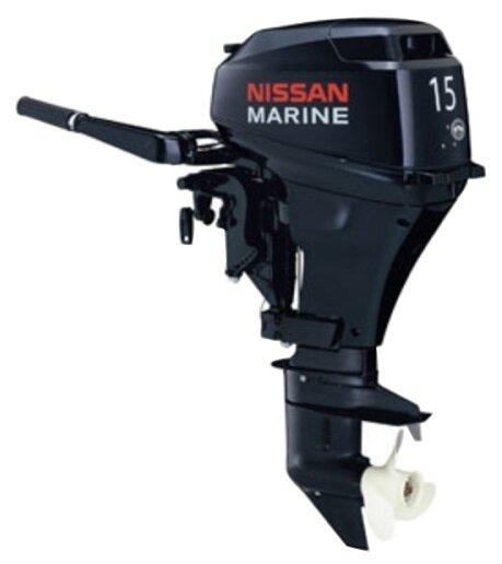 Лодочный мотор Nissan Marine NS 15 D2 1