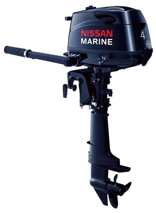 Лодочный мотор Nissan Marine NSF 4 CD 1