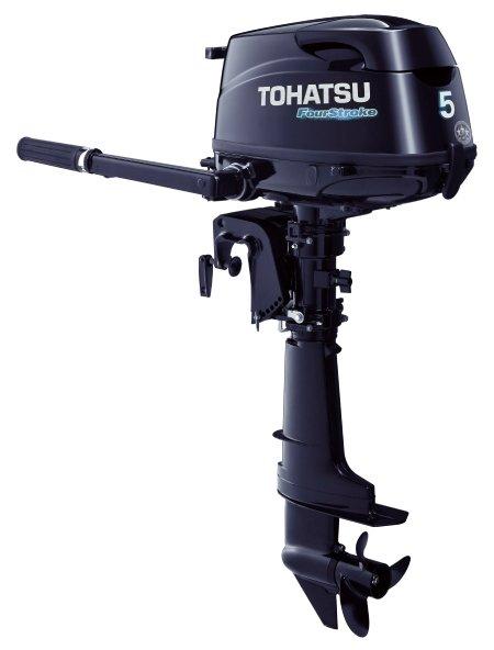 Лодочный мотор Tohatsu MFS 5B DS