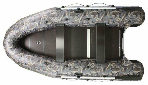 Надувная лодка Фрегат 350 Pro Камуфляж