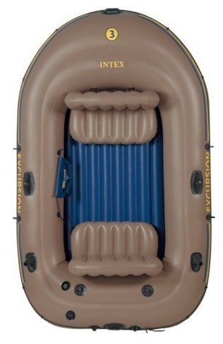 Надувная лодка Intex Excursion-3 Set (68319)