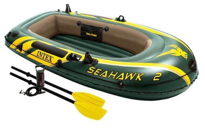 Надувная лодка Intex Seahawk-200