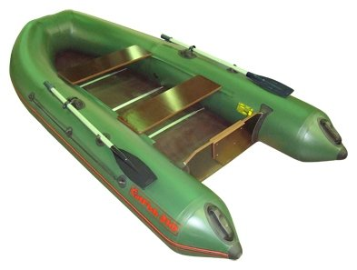 Надувная лодка Мнев и К CatFish 340