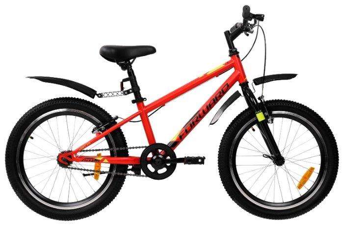 Подростковый горный (MTB) велосипед FORWARD Unit 20 1.0 (2019)