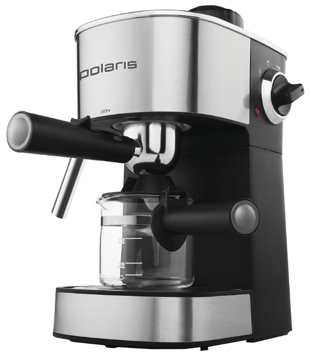 Кофеварка рожковая Polaris PCM 4008AL