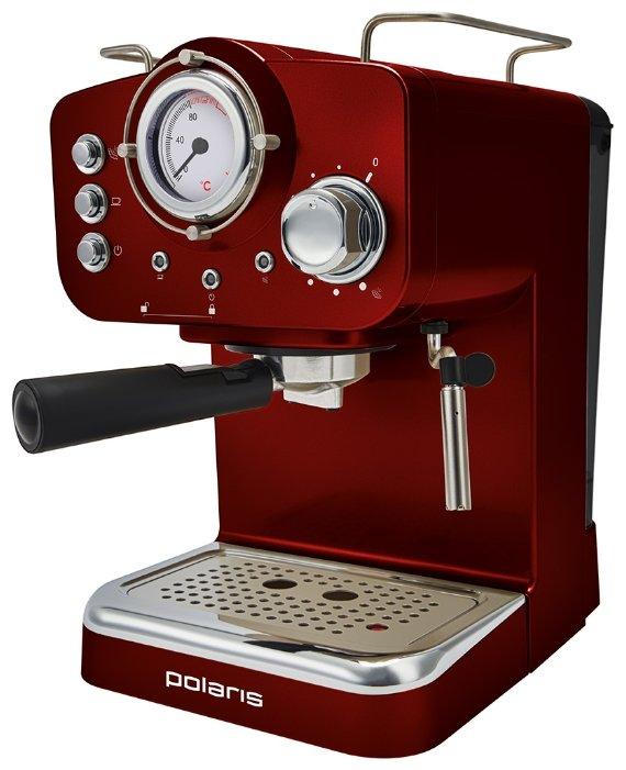 Кофеварка рожковая Polaris PCM 1531E Retro