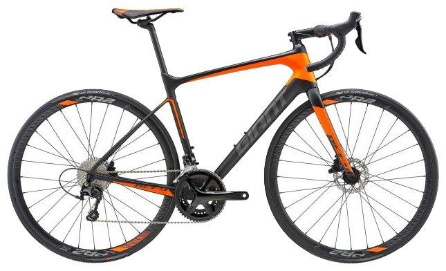 Шоссейный велосипед Giant Defy Advanced 2 (2018)