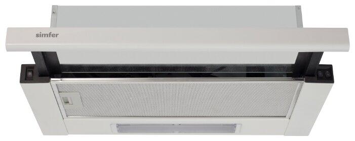 Встраиваемая вытяжка Simfer 6007 White
