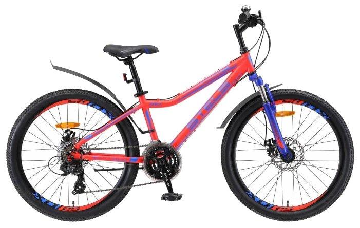 Подростковый горный (MTB) велосипед STELS Navigator 410 MD 24 21-sp V010