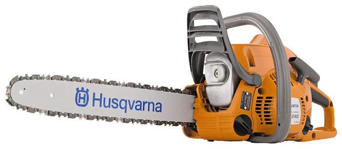 Цепная бензиновая пила Husqvarna 240e
