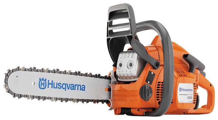 Цепная бензиновая пила Husqvarna 435 II