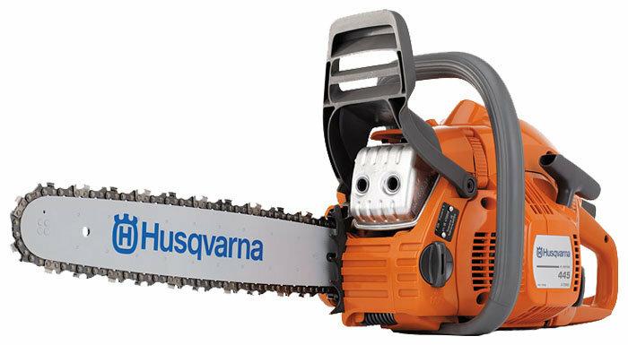 Цепная бензиновая пила Husqvarna 445e