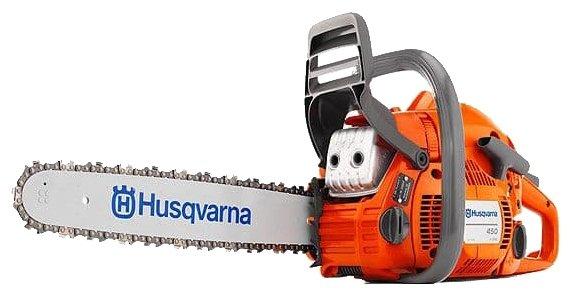 Цепная бензиновая пила Husqvarna 450e