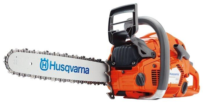 Цепная бензиновая пила Husqvarna 555