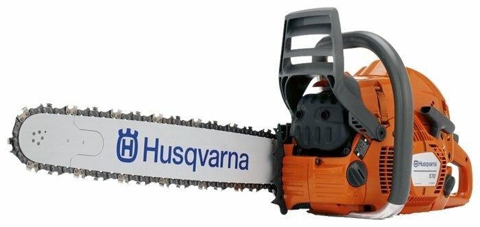 Цепная бензиновая пила Husqvarna 570