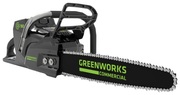 Цепная электрическая пила greenworks GS-180 5.0Ач х1