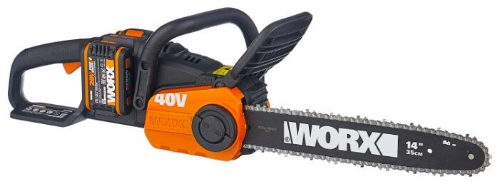 Цепная электрическая пила Worx WG384E 2.0Ач х2
