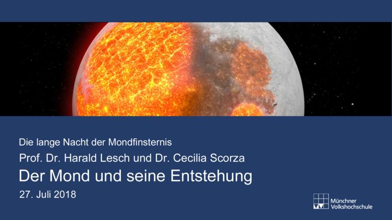 """Vorschaubild """"Der Mond und seine Entstehung"""""""