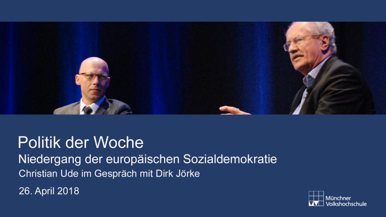 Foto Christian Ude und Dirk Jörke im Gespräch