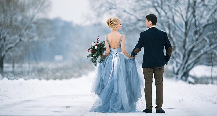 Masal Diyarına Yolculuk: Kış Düğünü Fotoğrafları!